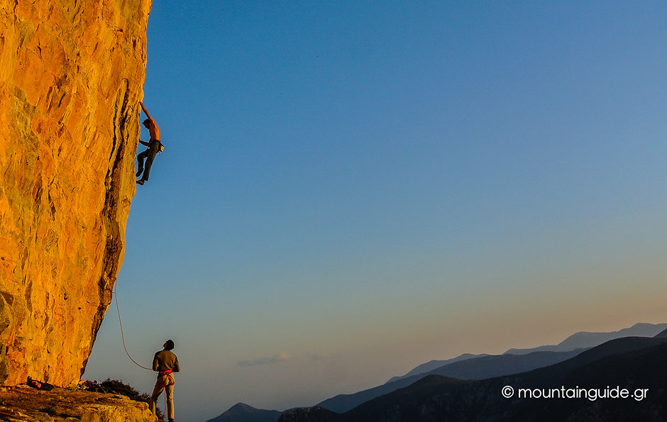 Nikos Hadjis - Mountain Guide - Rock Climbing - Greece Leonidio