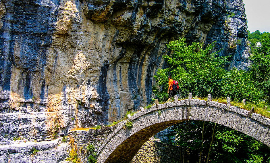Nikos Hadjis - Mountain Guide - Trekking - Zagori Epirus Greece