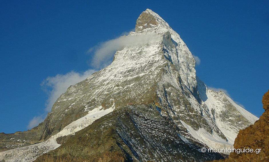 Nikos Hadjis - Mountain Guide - Alpinism - Summit Matternhorn 4.478m