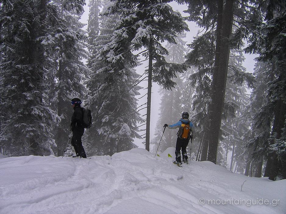 Nikos Hadjis - Mountain Guide - Freeriding