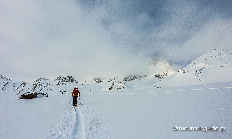 Nikos Hadjis - Mountain Guide - Ski Touring Silvretta
