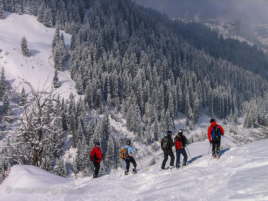 Nikos Hadjis - Mountain Guide - Freeriding - Switzerland