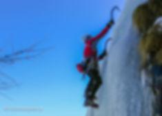 Nikos Hadjis - Mountain Guide - Ice Climbing - Cogne Italy
