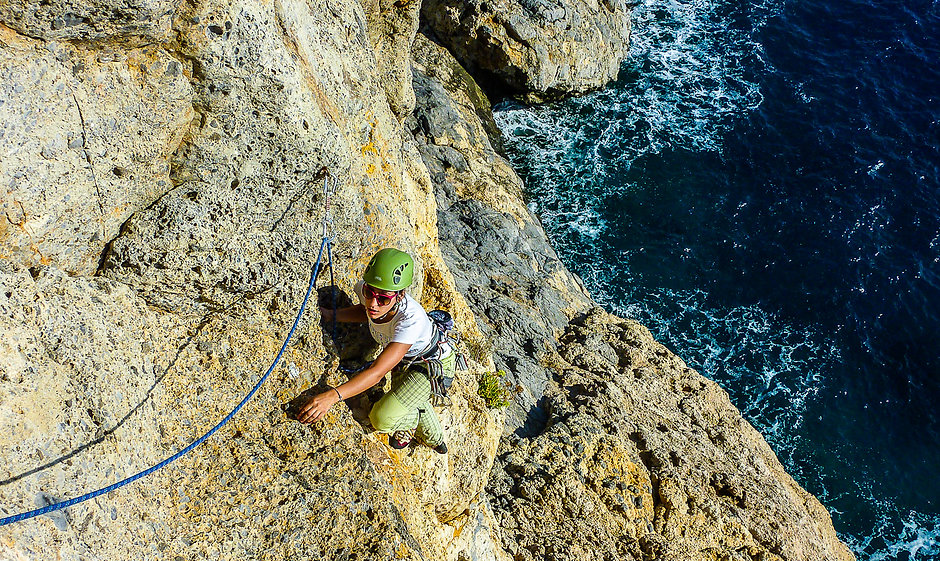 Nikos Hadjis - Mountain Guide - Rock Climbing - Greece Crete