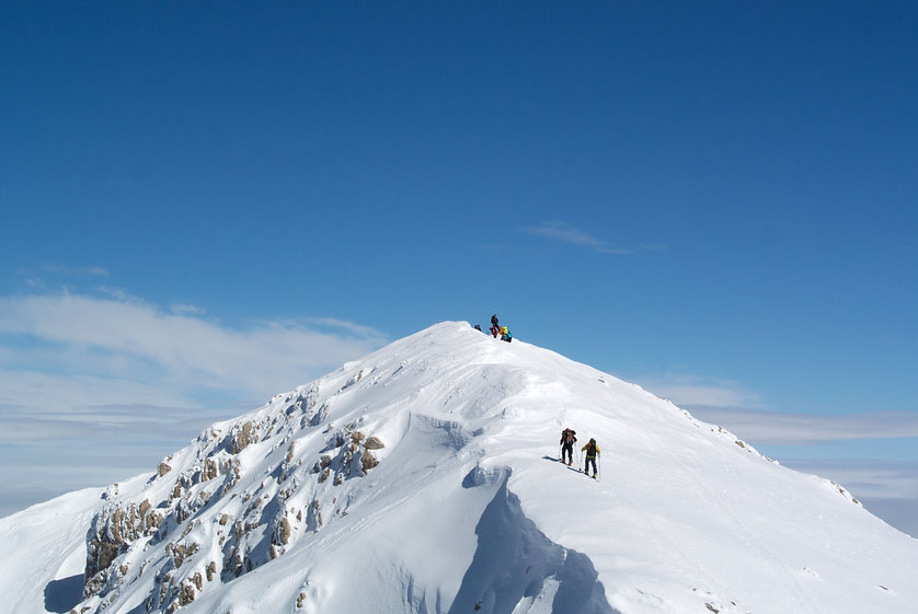 Nikos Hadjis - Mountain Guide - Bergführer - Ski Touring Greece
