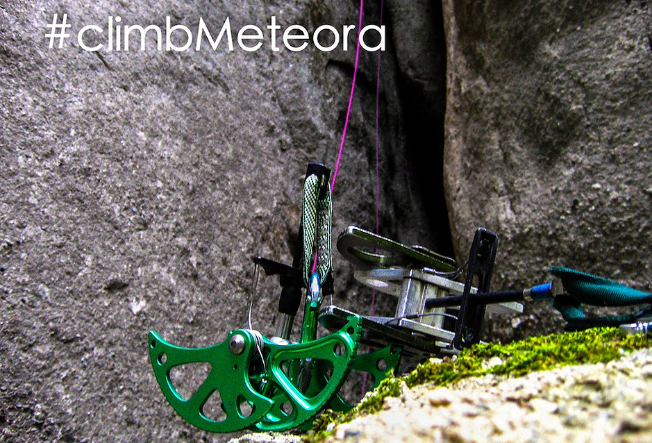 Nikos Hadjis - Mountain Guide - Rock Climbing - Greece - Meteora