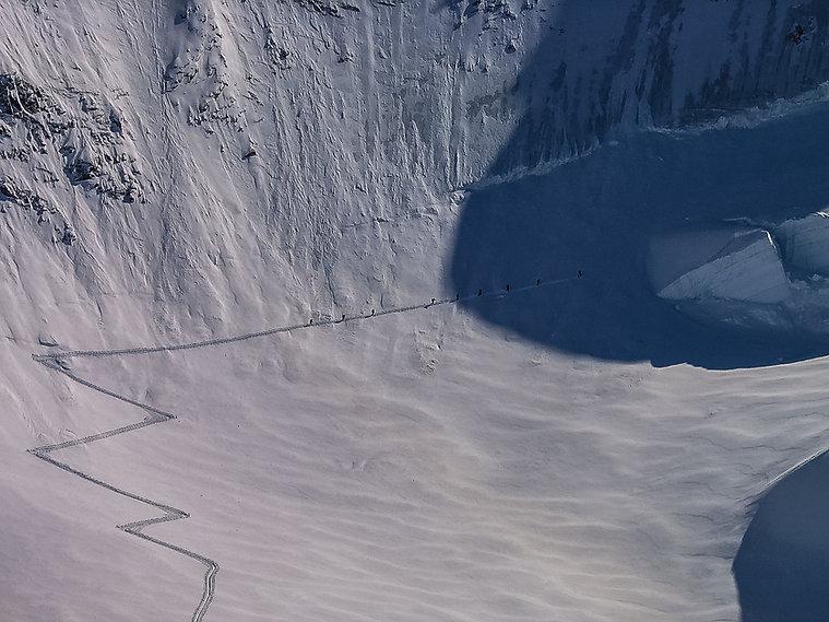 Nikos Hadjis - Mountain Guide - Ski Touring Italy Monte Rosa