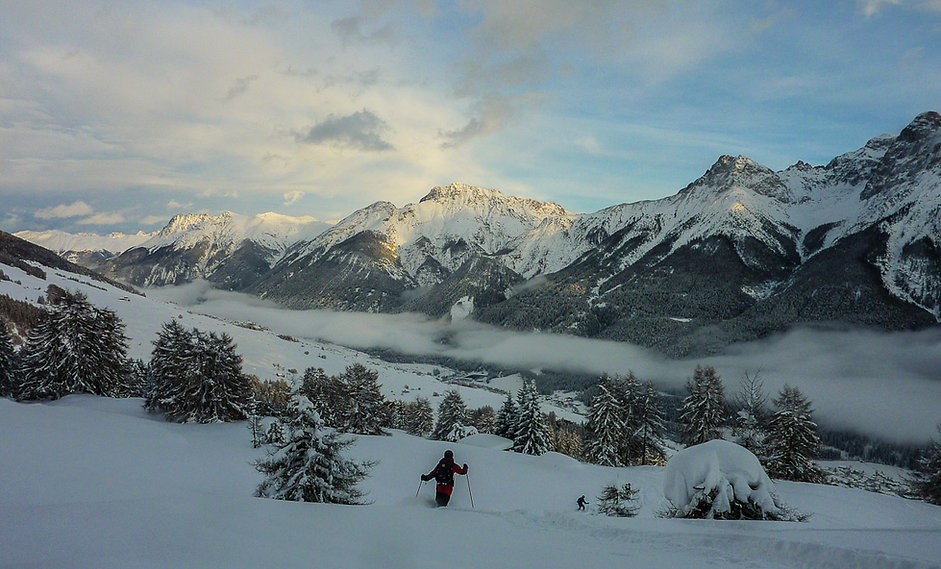 Nikos Hadjis - Mountain Guide - Ski Touring Switzerland Engadine