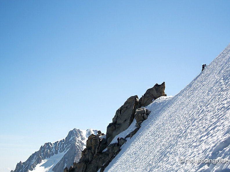 Nikos Hadjis - Mountain Guide - Alpinism - Summit Mont Blanc 4.810m