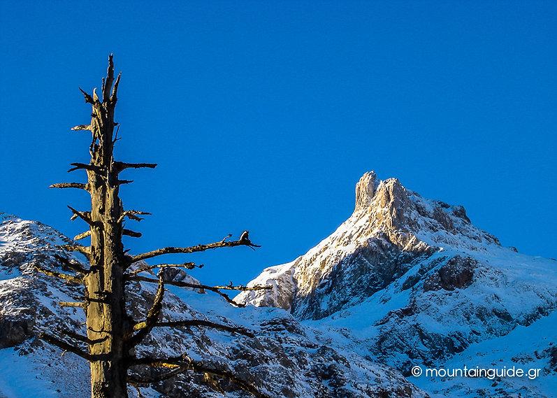 Nikos Hadjis - Mountain Guide - Ski Touring Greece