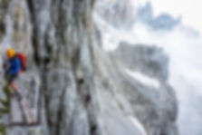 Nikos Hadjis - Mountain Guide - Rock Climbing - Via Ferrata - Brenta Italy - Via delle Bocchette