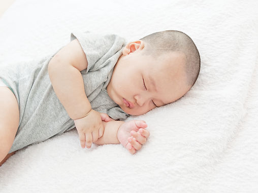 Sleeping baby, sleep training services
