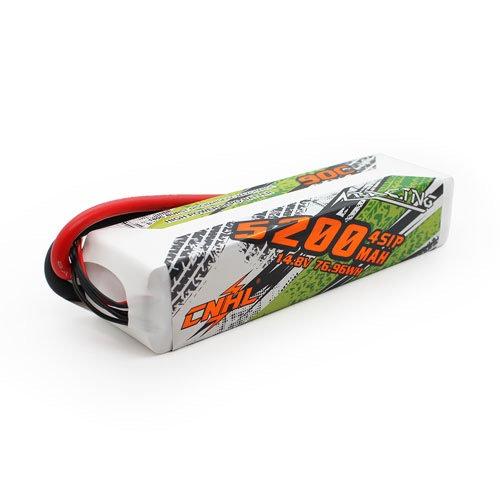 CNHL 5200MAH 14.8V 4S 90C Lipo Battery