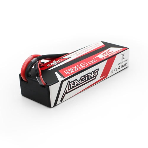 CNHL Racing Series 5200MAH 7.4V 2S 100C Lipo Battery Hard Case