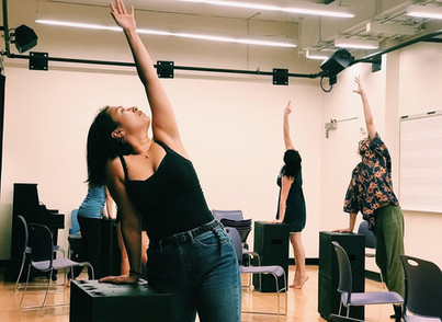 This is Not a Theatre Company - Rehearsal Photo