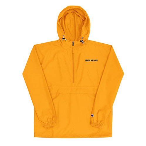 Fresh Melanin Champion Packable Jacket