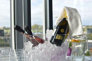 Champagne su ghiaccio