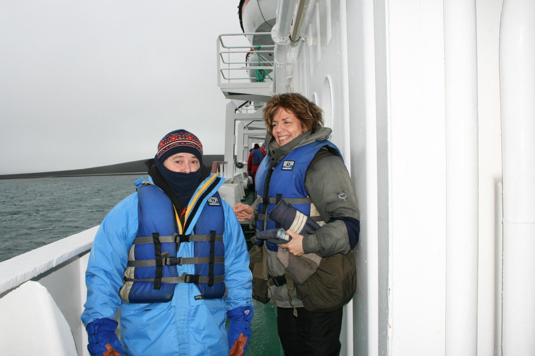 Falklands Antarctic JP and Rani Lueder.jpg