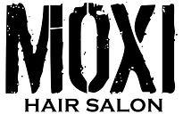 moxi logo outlined type white background