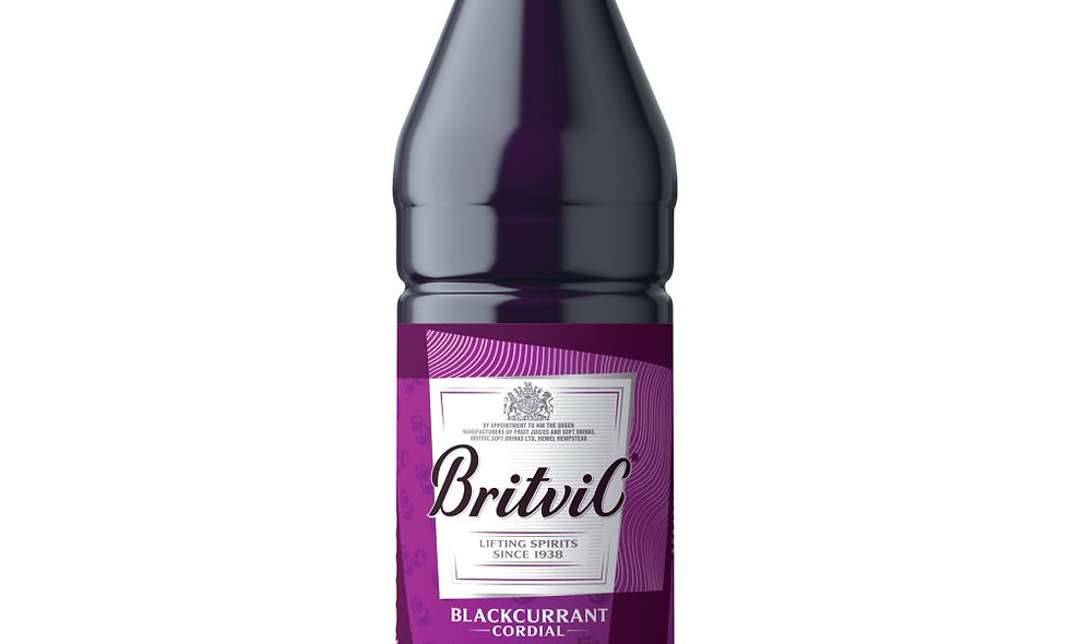 Blackcurrant Cordial Britvic 1Ltr