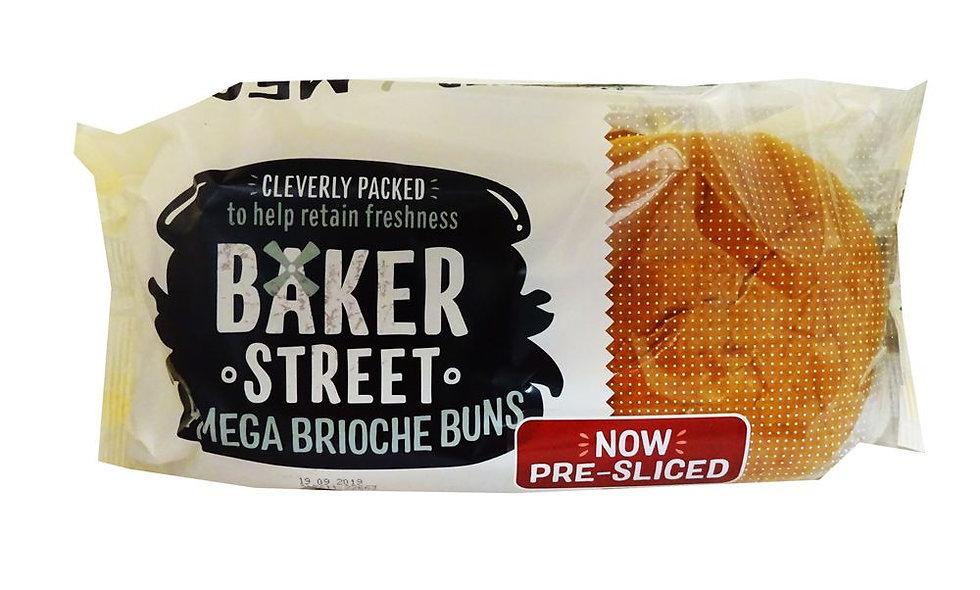 Brioche Buns. Baker street, 4pack