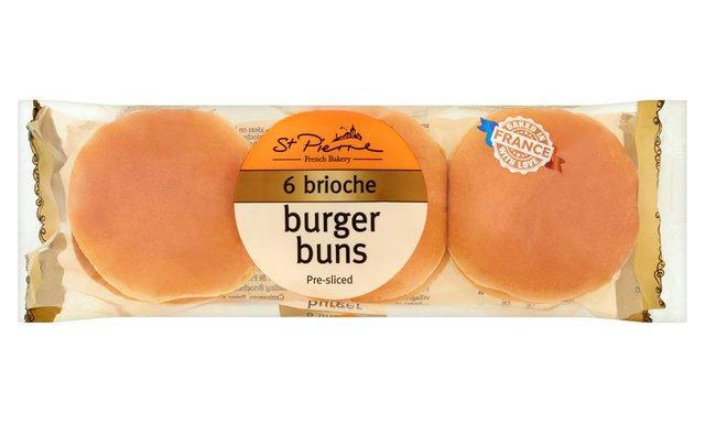Brioche Burger Buns, 6 Pack