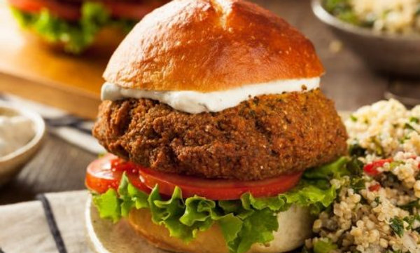 Falafel Burger (vegan available) (THUR-SUND)