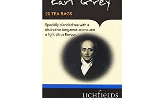 Earl Grey Tea Litchfields, 20bags