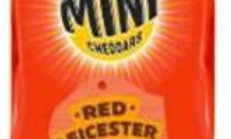 Red Leicester Mini Cheddar 30g