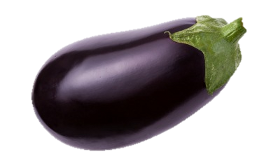 Aubergines Medium Each