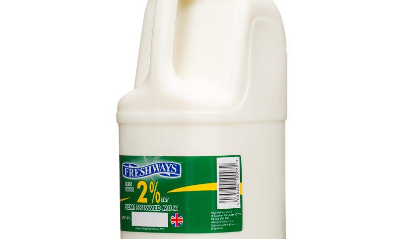Milk 2Ltr Green top