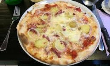 "Tartiflette Pizza 10"""