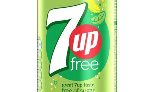 7 up Free Can 330ml no sugar