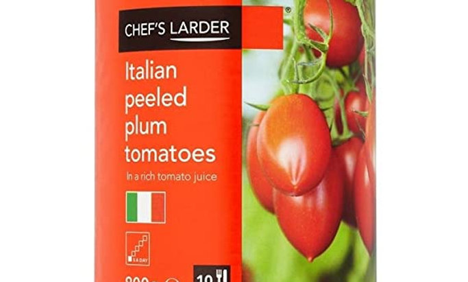Tin 800g CL Peeled Plum Tomatoes