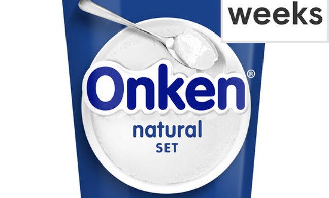 Natural Yoghurt, ONKEN, 500g
