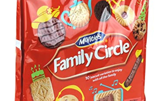 Mcvities, Family Circle Biscuit Selection, 360g