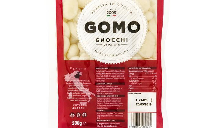 Gomo Gnocchi, 500g