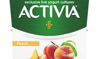 Activa Peach 0%, pack of 4x120g