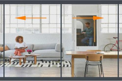 Concept Patio 68 4 Panels Width to 400 Tall Door Set