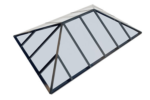 Korniche Multi Panel Lantern depth 400 x width 550 cm