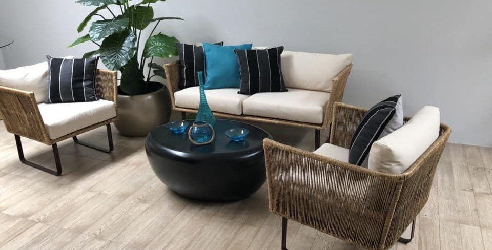 Mueble Modelo Industrial  en Fibra Natural