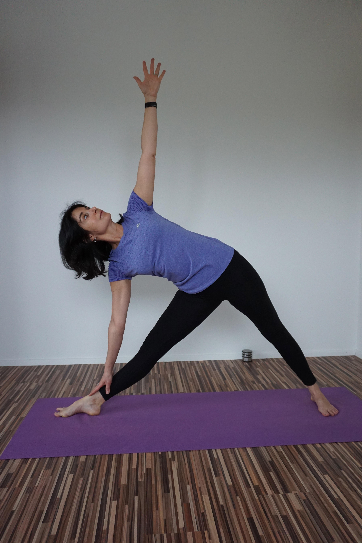 Yogalehrerin Kerstin Bierwirth