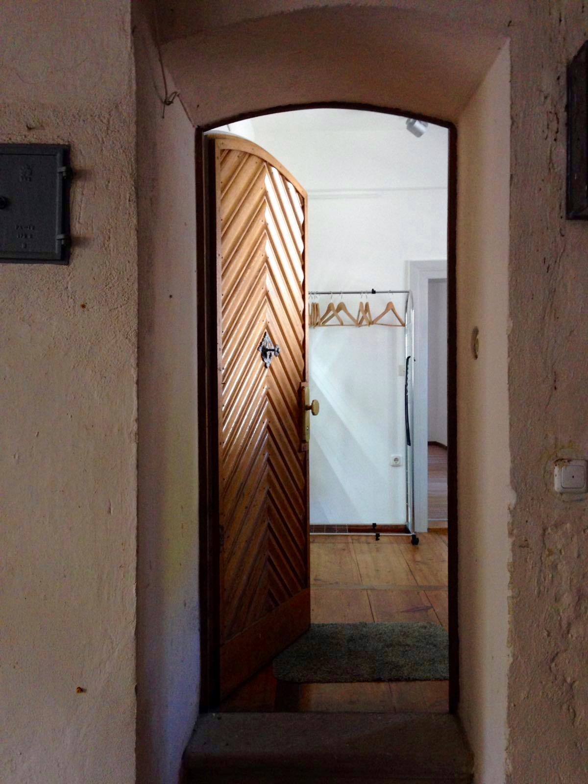 Eingang zum Yoga Studio