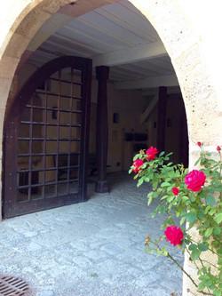 Hofansicht Schlossportal