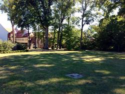 Schlossgarten Yoga im Freien