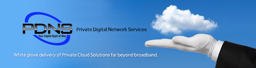 White glove delivery of Private Cloud Solutions far beyond broadband