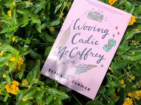 Wooing Cadie McCaffrey, by Bethany Turner, *REVIEW* Lone Star Book Blog Tour