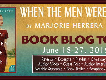 When the Men Were Gone, By Marjorie Herrera Lewis, REVIEW, Lone Star Book Blog Tour