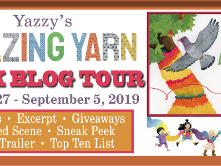 Yazzy's Amazing Yarn, *Review, Lone Star Book Blog Tour