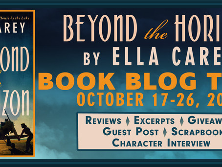 BEYOND THE HORIZON, by ELLA CAREY, Review, Lone Star Book Blog Tour